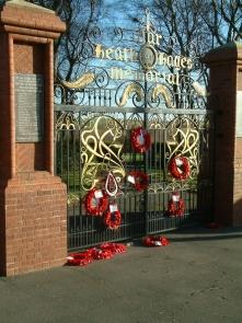 Memorial Gates Five Ways
