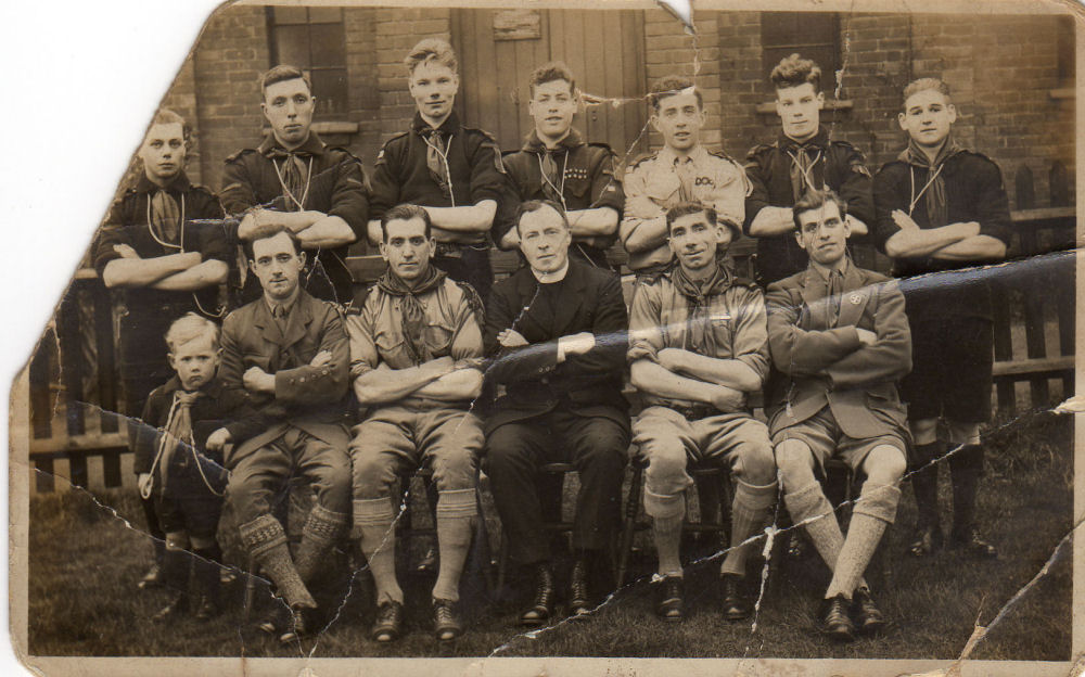 St Johns Scouts Rovers Crew 1930's