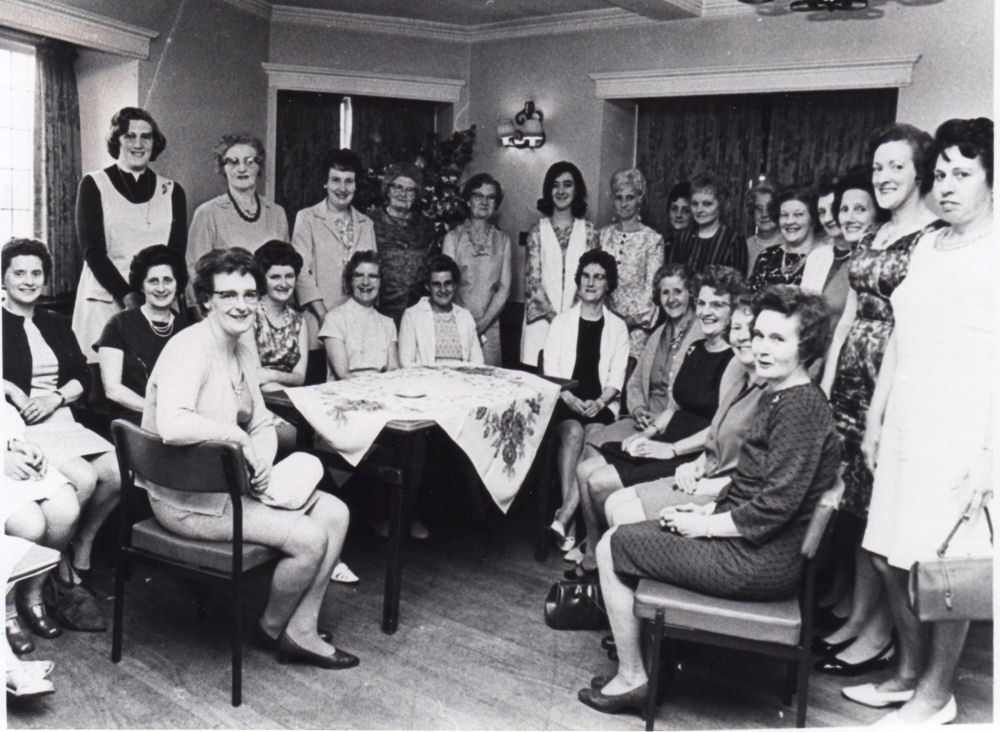 Ladies Social Circle In The 1960's