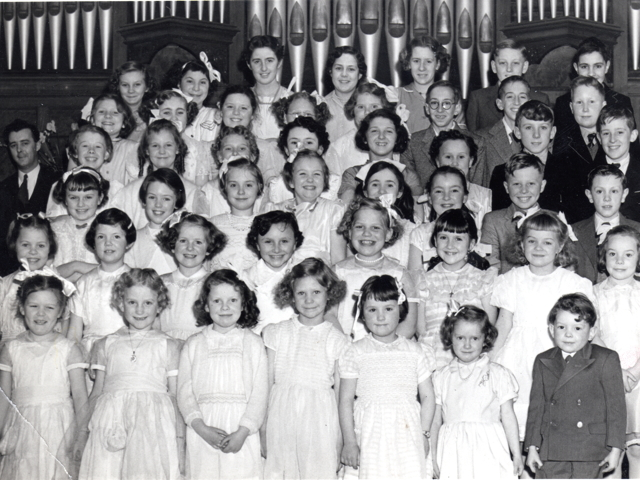 Bourne Methodist Sunday School Anniversary Concert c 1956e