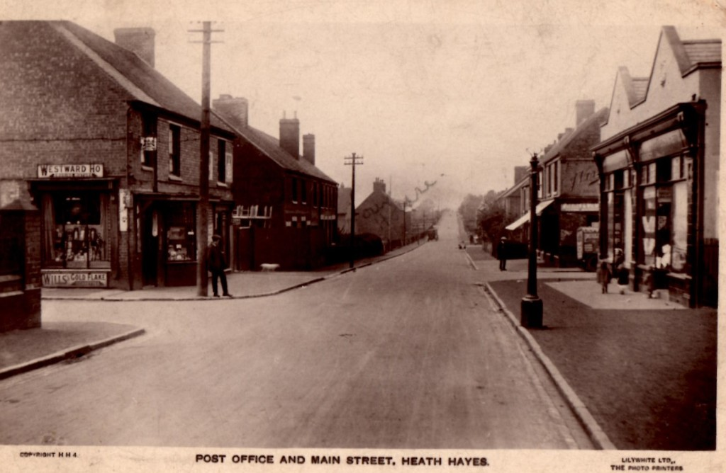 Heath Hayes High Street - Year unknown