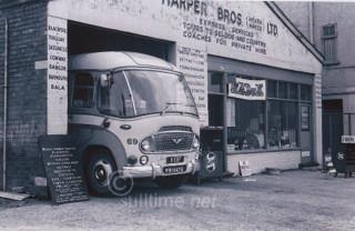 61 copyright stilltime.net Bedford duple body Leyland engine