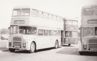 80 Leyland Behind owned by PMT
