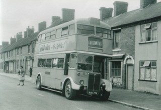 82 Hednesford Rd AEC RT Ex London transport rare Craven body. Built in Anglesey for London
