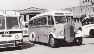 98 AEC Regal 3 with Burlingham body