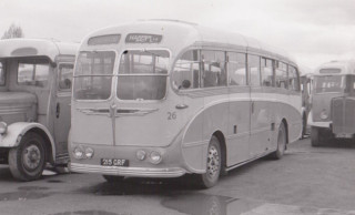 100 Guy 1958 transported school children on a trip to Holland