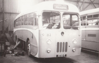 11 Leyland Tiger/Modifies from Coach to Bus by Harpers