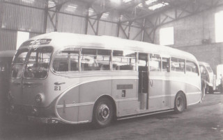 14 Leyland before downgrading to Bus