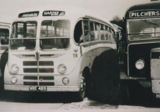 18 Leyland rebodied with Burlingham Body