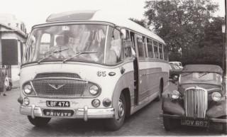 19 Bedford/Leyland Engine Duple Body