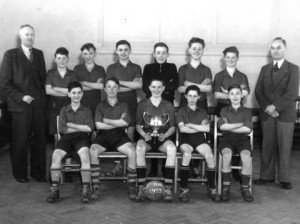 Football Littleworth Hednesford 1953