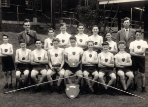 School Athletics Littleworth 1954