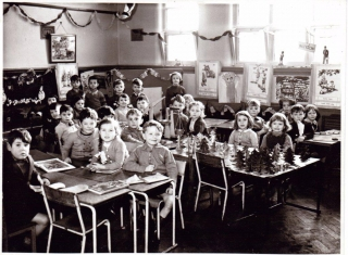 1957 Wimblebury infant class