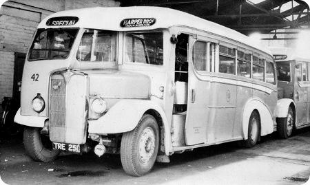 Harper bus AEC Regal III