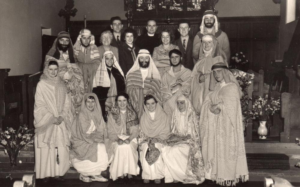 St Johns Church Nativity Play 1950's
