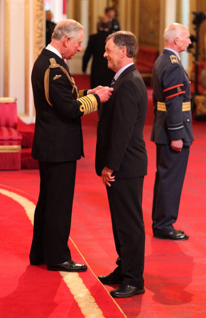Mel and Prince Charles