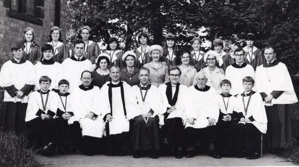 St Johns Church Choir 1968 or 1969
