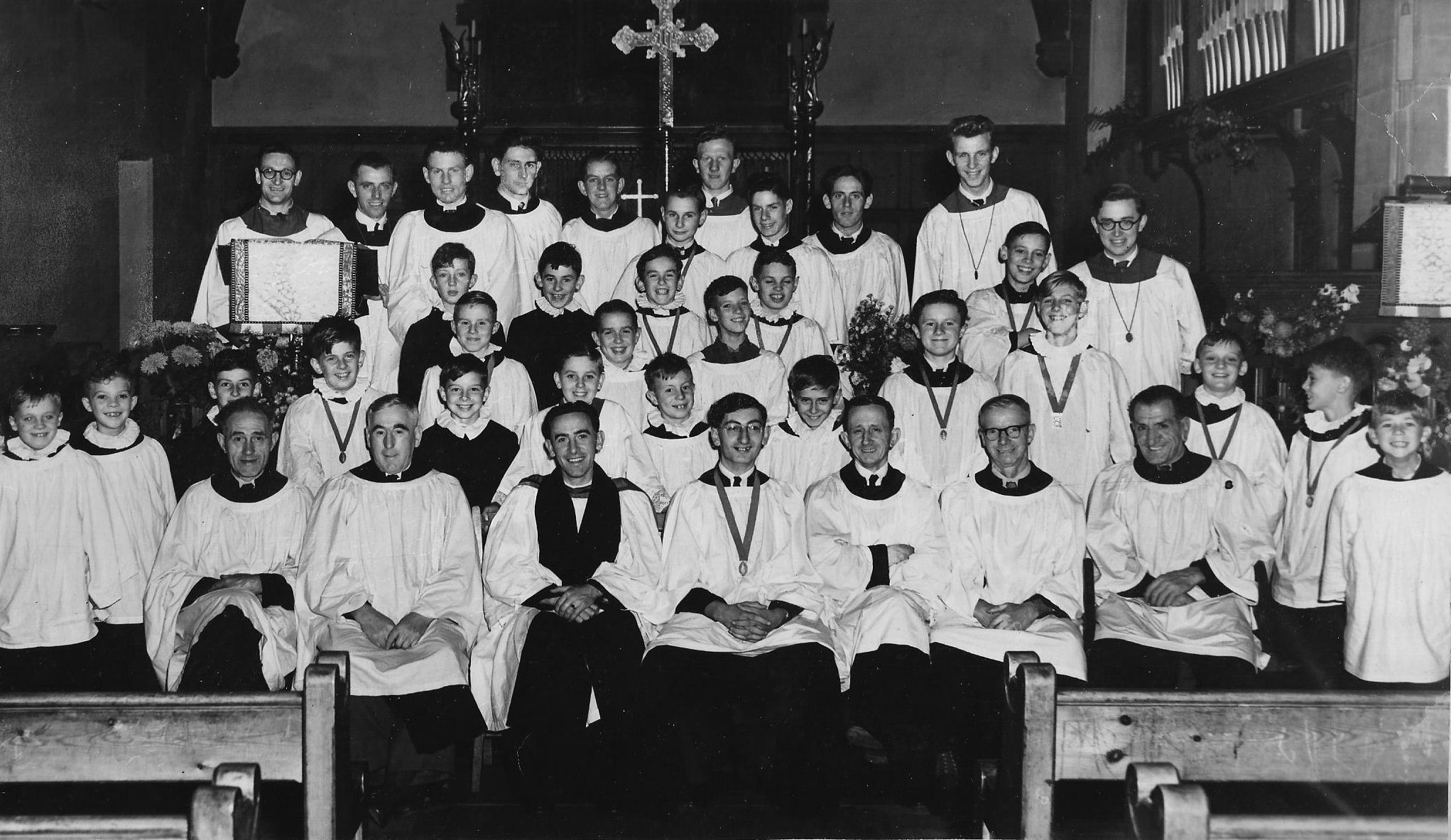St Johns Church Choir Photographs
