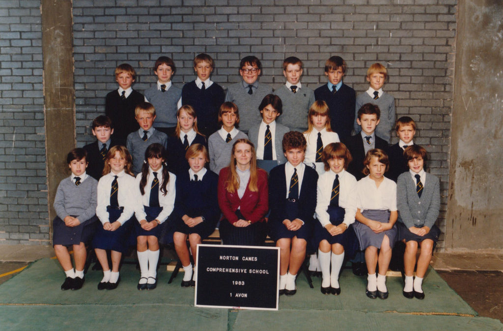Norton Canes School 1983